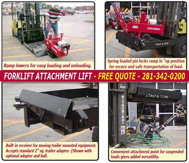 Forklift Attachment Lift
