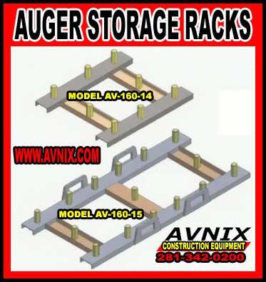 Auger Storage Racks For Sale
