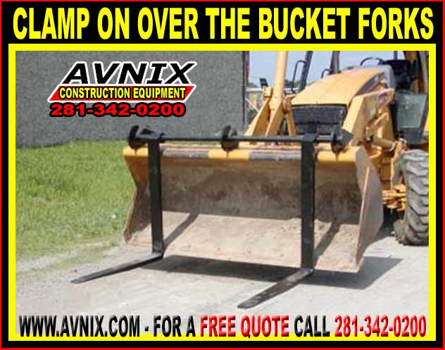 Discount Clamp On Over The Bucket Forks On Sale Now, Cheap