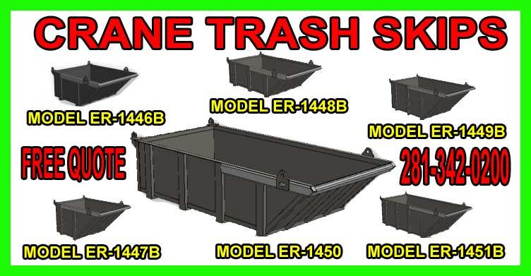 Crane Dumpsters & Trash Skips