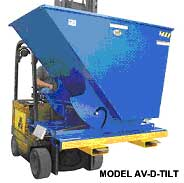 Forklift Side Dumping Hoppers