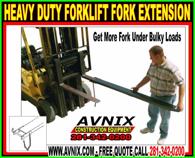 Discount Heavy Duty Forklift Fork Extensions For Sale Cheap