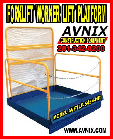 Forklift Work Platform For Sale Cheap At Discount Prices