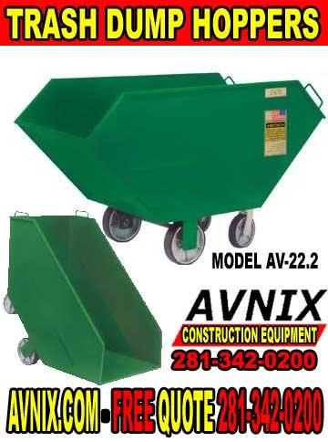 Discount Metal Trash Dump Hopper For Sale Cheap