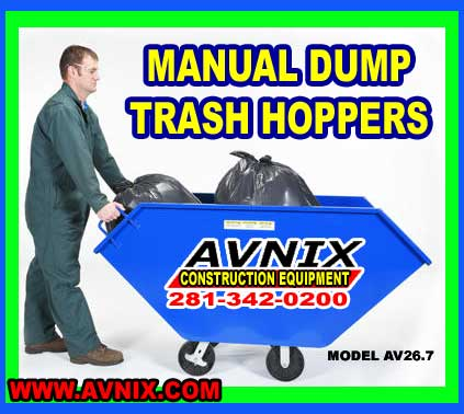 Cheap Steel Trash Dumping Hopper On Sale At Discount Prices