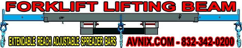 Forklift Lifting Beams