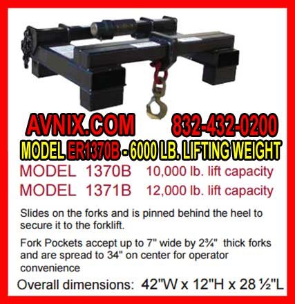 Forklift Lifting Hook For Sale In Houston, Texas