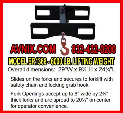 Lift Hook For Forlift For Sale