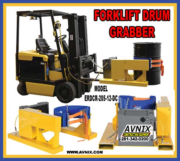 Discount Forklift Drum Grabber For Sale At Cheap Wholesale Pricing