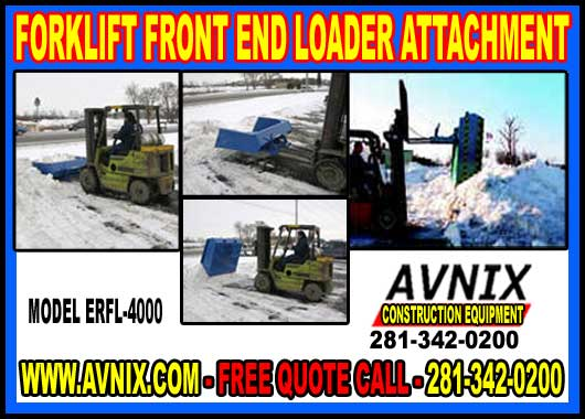 Forklift Front End Loader Bucket Attachment For Sale Wholesale Discount Pricing