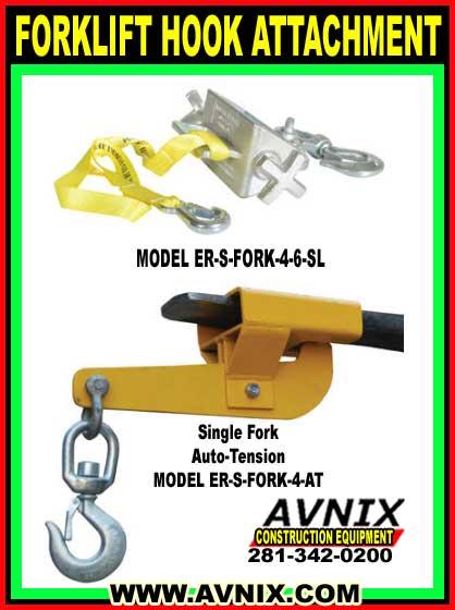 Forklift Hook Attachment For Sale