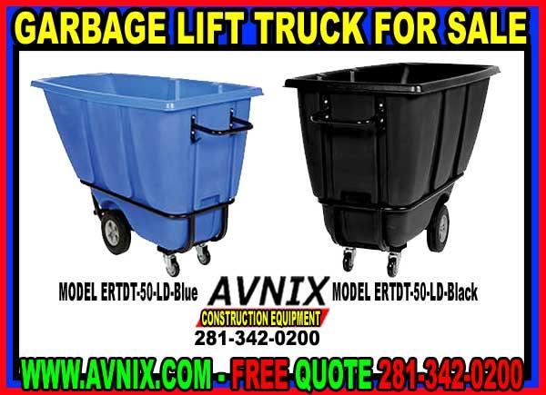 Garbage Tilt Truck For Sale