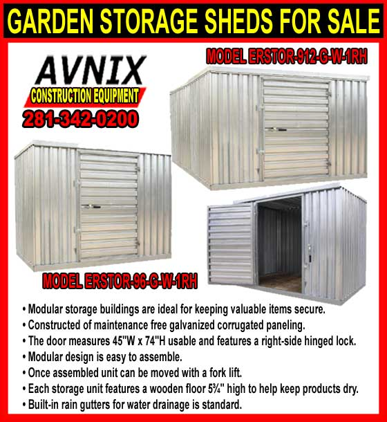 Garden Storage Shed Kit For Sale