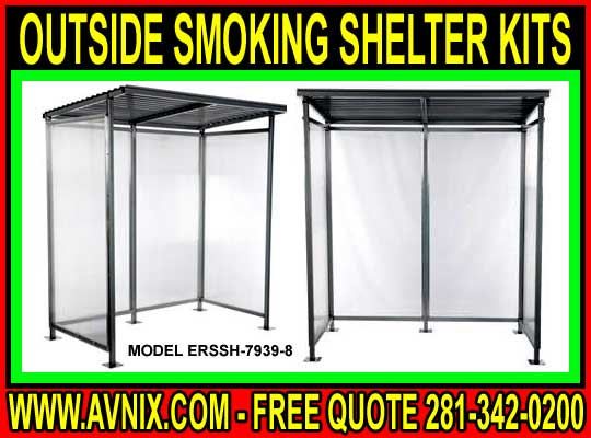 Outside Smoking Shelter Kits For Sale Cheap At Discounted Prices