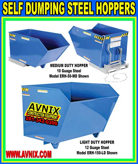 Self Dumping Steel Hoppers For Sale Cheap Wholesale Prices
