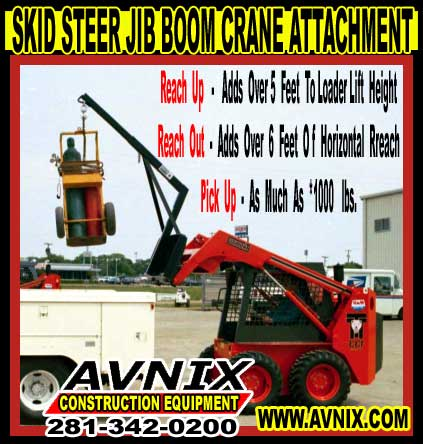 Skid Steer Jib For Sale Cheap Wholesale Prices