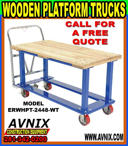 Wood Platform Trucks For Sale At Cheap Wholesale Prices