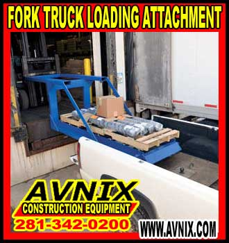 Heavy Duty Fork Truck Loading Attachment For Sale