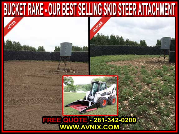 Discount Quality Skid Steer Landscape Grader Attachment For Sale - Cheap Manufacturer Direct Prices - VersaRake