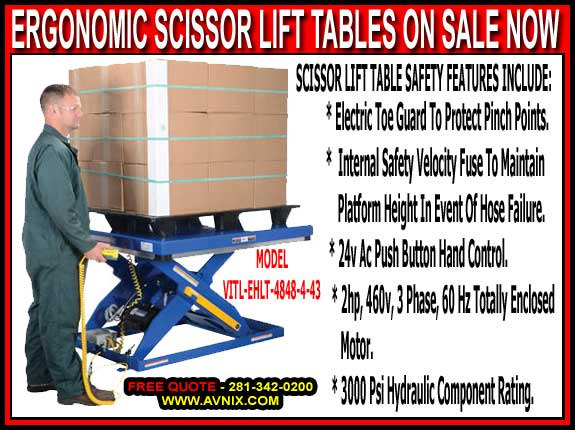 Wholesale Industrial Heavy Duty Scissor Lift Tables For Sale Manufacturer Direct Prices Save You Money Today