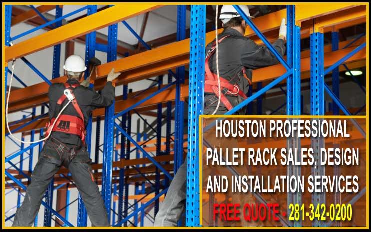Pallet Rack Installation Houston Texas For Sale Manufacturer Direct