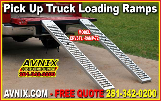 Heavy Duty Steel Pick Up Truck Loading Ramps For Sale Factory Direct Guarantees Lowest Price
